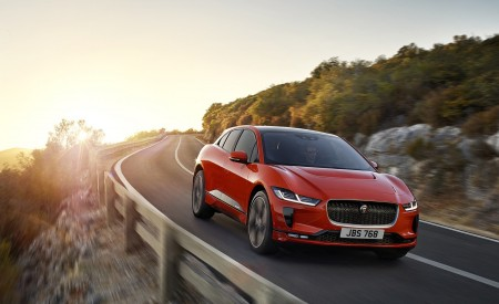 2019 Jaguar I-PACE (Color: Photon Red) Front Wallpapers 450x275 (83)