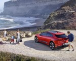 2019 Jaguar I-PACE (Color: Photon Red) Rear Three-Quarter Wallpapers 150x120