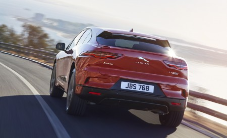 2019 Jaguar I-PACE (Color: Photon Red) Rear Wallpapers 450x275 (85)