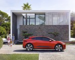 2019 Jaguar I-PACE (Color: Photon Red) Side Wallpapers 150x120