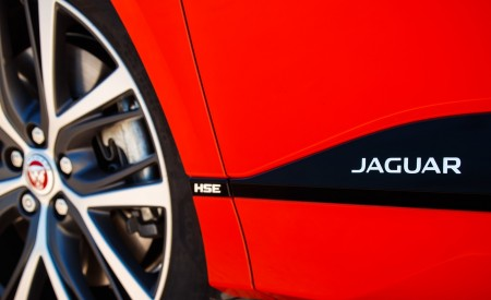 2019 Jaguar I-PACE EV400 AWD HSE First Edition (Color: Photon Red) Detail Wallpapers 450x275 (67)