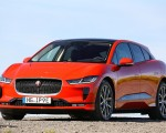 2019 Jaguar I-PACE EV400 AWD HSE First Edition (Color: Photon Red) Front Three-Quarter Wallpapers 150x120