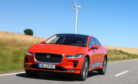 2019 Jaguar I-PACE EV400 AWD HSE First Edition (Color: Photon Red) Front Wallpapers 450x275 (22)