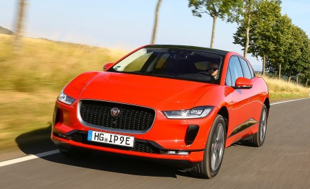 2019 Jaguar I-PACE EV400 AWD HSE First Edition (Color: Photon Red) Front Wallpapers 450x275 (14)