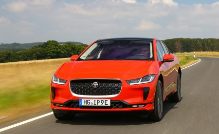2019 Jaguar I-PACE EV400 AWD HSE First Edition (Color: Photon Red) Front Wallpapers 450x275 (5)