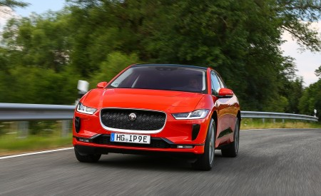 2019 Jaguar I-PACE EV400 AWD HSE First Edition (Color: Photon Red) Front Wallpapers 450x275 (16)