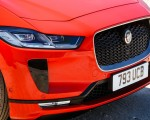2019 Jaguar I-PACE EV400 AWD HSE First Edition (Color: Photon Red) Grill Wallpapers 150x120