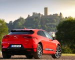 2019 Jaguar I-PACE EV400 AWD HSE First Edition (Color: Photon Red) Rear Three-Quarter Wallpapers 150x120