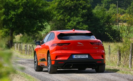 2019 Jaguar I-PACE EV400 AWD HSE First Edition (Color: Photon Red) Rear Wallpapers 450x275 (52)