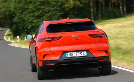 2019 Jaguar I-PACE EV400 AWD HSE First Edition (Color: Photon Red) Rear Wallpapers 450x275 (9)