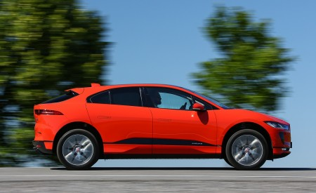 2019 Jaguar I-PACE EV400 AWD HSE First Edition (Color: Photon Red) Side Wallpapers 450x275 (33)