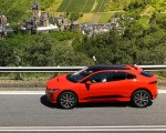 2019 Jaguar I-PACE EV400 AWD HSE First Edition (Color: Photon Red) Side Wallpapers 150x120