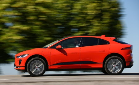 2019 Jaguar I-PACE EV400 AWD HSE First Edition (Color: Photon Red) Side Wallpapers 450x275 (34)