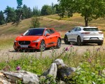 2019 Jaguar I-PACE EV400 AWD HSE First Edition (Color: Photon Red) Wallpapers 150x120