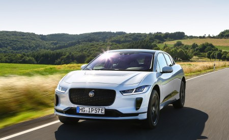 2019 Jaguar I-PACE EV400 AWD S (Color: Yulong White) Front Wallpapers 450x275 (162)