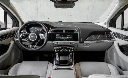 2019 Jaguar I-PACE EV400 AWD S (Color: Yulong White) Interior Cockpit Wallpapers 450x275 (190)