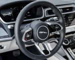 2019 Jaguar I-PACE EV400 AWD S (Color: Yulong White) Interior Steering Wheel Wallpapers 150x120