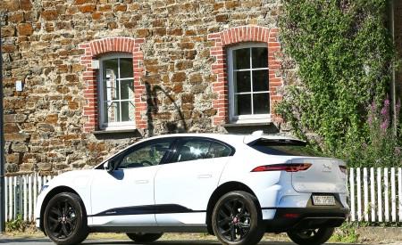 2019 Jaguar I-PACE EV400 AWD S (Color: Yulong White) Rear Three-Quarter Wallpapers 450x275 (176)