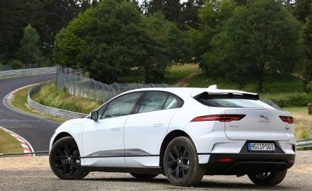 2019 Jaguar I-PACE EV400 AWD S (Color: Yulong White) Rear Three-Quarter Wallpapers 450x275 (179)
