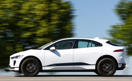 2019 Jaguar I-PACE EV400 AWD S (Color: Yulong White) Side Wallpapers 450x275 (172)
