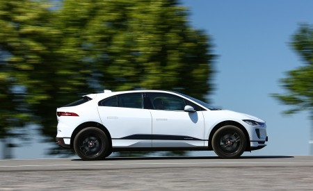 2019 Jaguar I-PACE EV400 AWD S (Color: Yulong White) Side Wallpapers 450x275 (165)