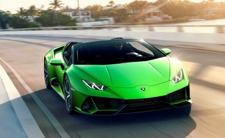 2019 Lamborghini Huracán EVO Spyder Wallpapers HD