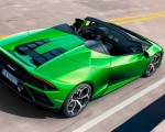2019 Lamborghini Huracán EVO Spyder Rear Three-Quarter Wallpapers 150x120 (7)