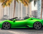 2019 Lamborghini Huracán EVO Spyder Side Wallpapers 150x120 (10)