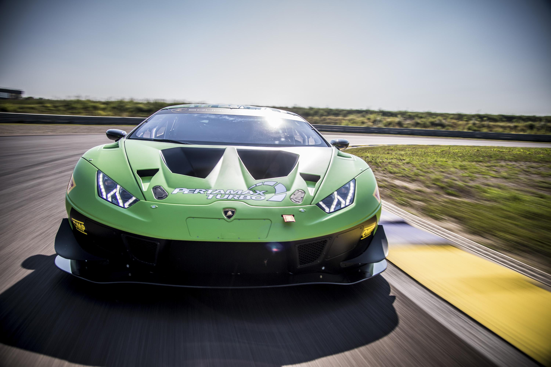 2019 Lamborghini Huracán GT3 EVO Front Wallpapers (4)