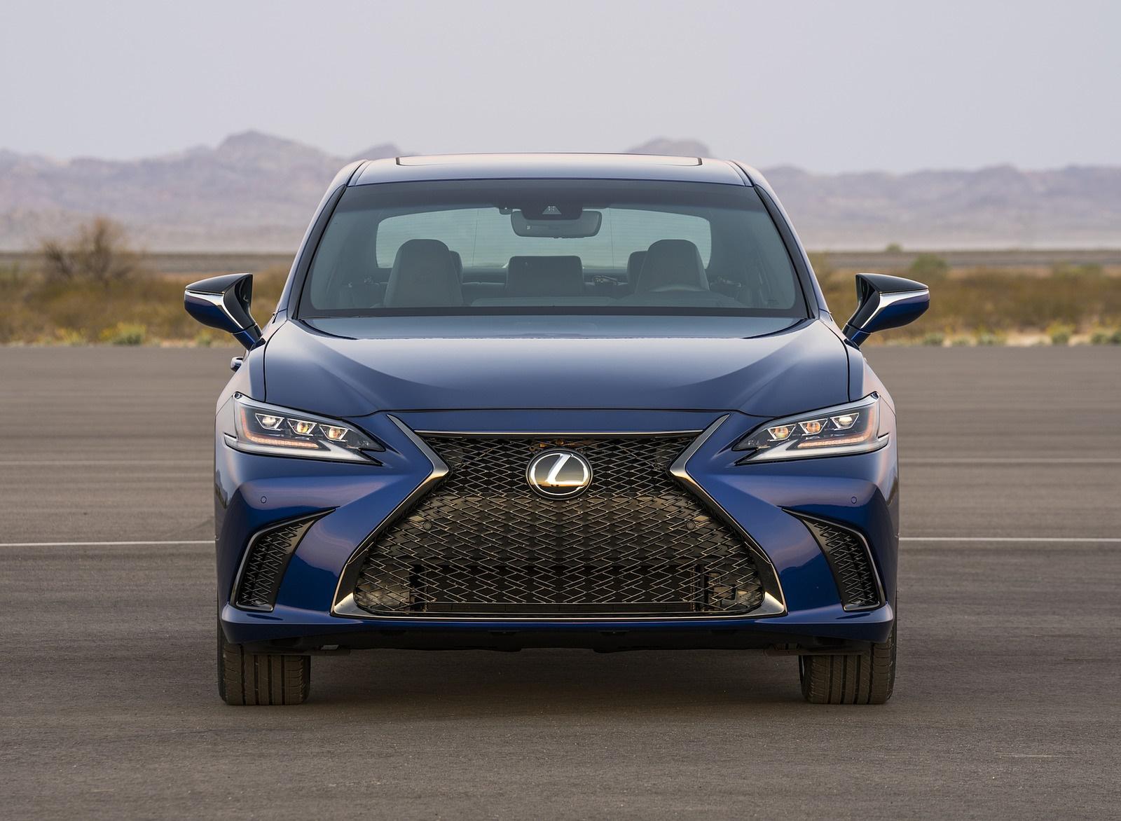 2019 Lexus ES 350 F-Sport Front Wallpapers (7)
