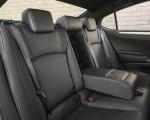 2019 Lexus ES 350 F-Sport Interior Rear Seats Wallpapers 150x120 (27)