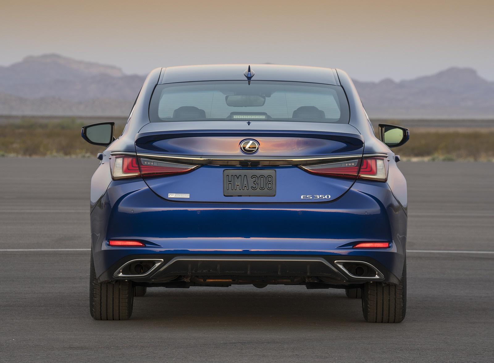 2019 Lexus ES 350 F-Sport Rear Wallpapers (10)
