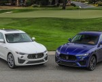 2019 Maserati Levante GTS and Trofeo Front Three-Quarter Wallpapers 150x120 (24)