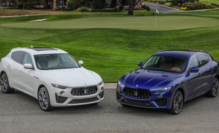 2019 Maserati Levante GTS and Trofeo Front Three-Quarter Wallpapers 450x275 (24)