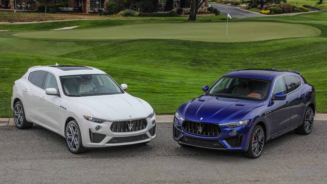 2019 Maserati Levante GTS and Trofeo Front Three-Quarter Wallpapers #24 of 97