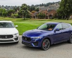 2019 Maserati Levante GTS and Trofeo Front Three-Quarter Wallpapers 150x120 (25)