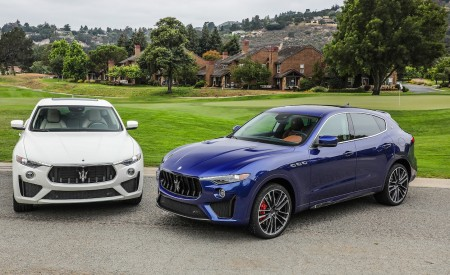 2019 Maserati Levante GTS and Trofeo Front Three-Quarter Wallpapers 450x275 (25)