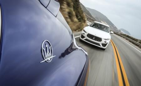 2019 Maserati Levante GTS and Trofeo Front Three-Quarter Wallpapers 450x275 (26)