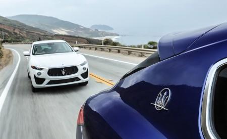 2019 Maserati Levante GTS and Trofeo Front Three-Quarter Wallpapers 450x275 (27)
