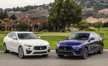 2019 Maserati Levante GTS and Trofeo Front Wallpapers 450x275 (28)