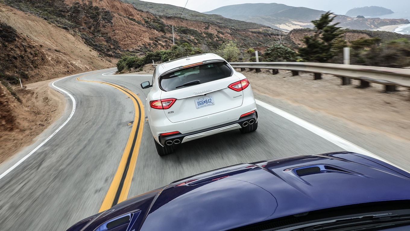 2019 Maserati Levante GTS and Trofeo Rear Wallpapers #30 of 97