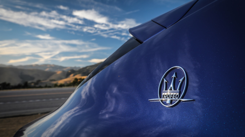 2019 Maserati Levante Trofeo Badge Wallpaper