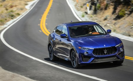 2019 Maserati Levante Trofeo Front Three-Quarter Wallpapers 450x275 (33)