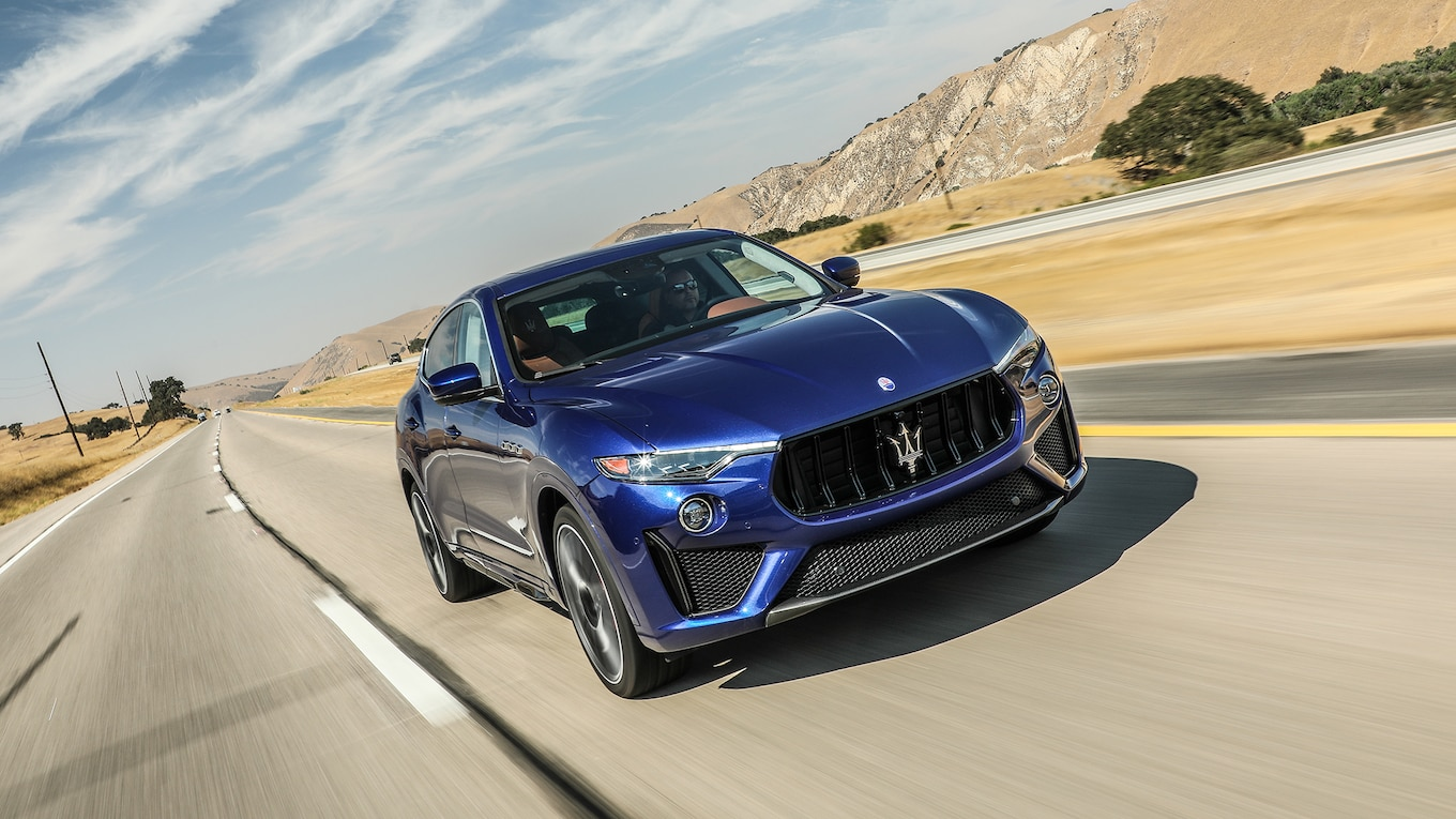 2019 Maserati Levante Trofeo Front Three-Quarter Wallpapers (10)