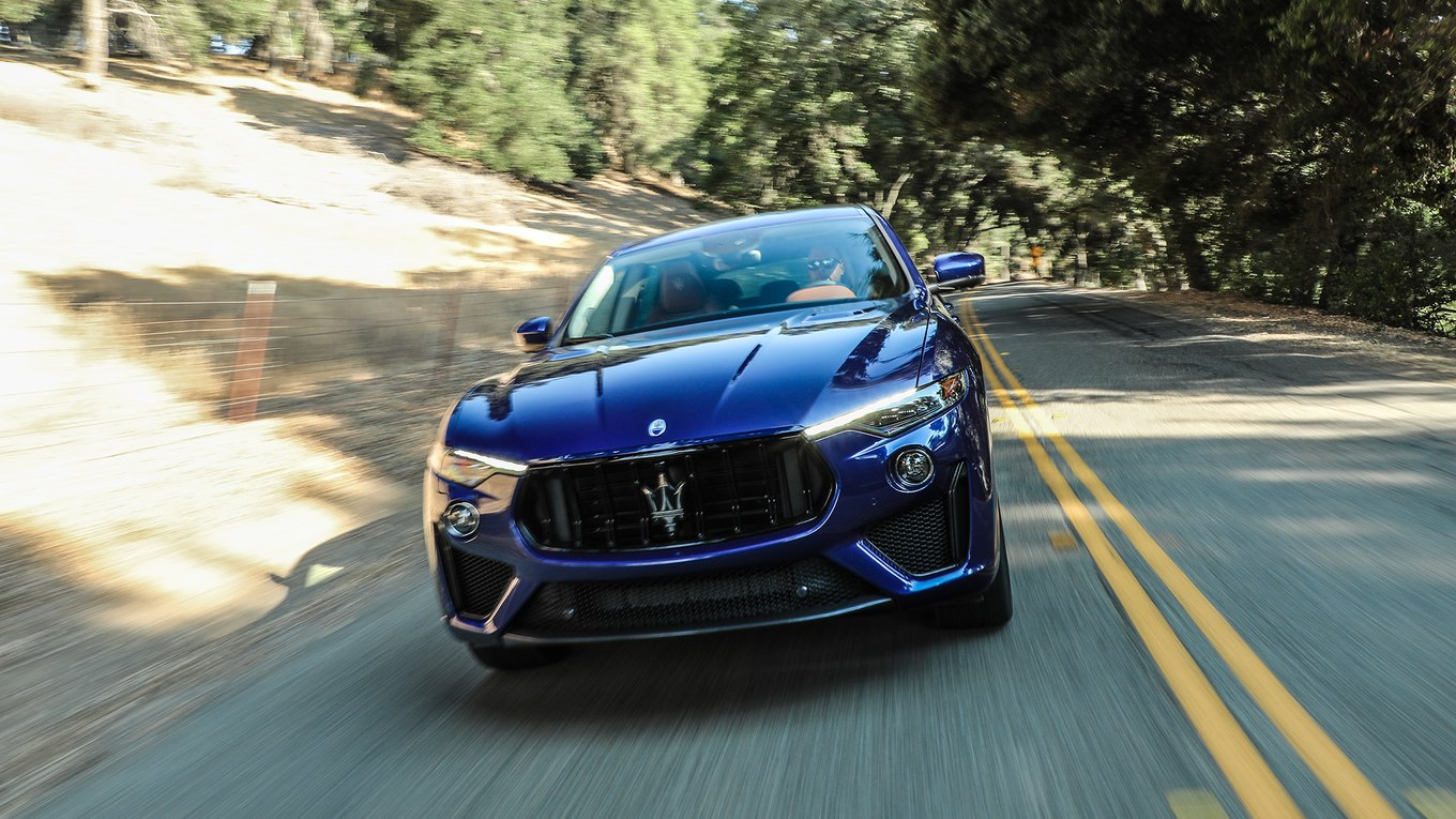 2019 Maserati Levante Trofeo Front Wallpapers (5)