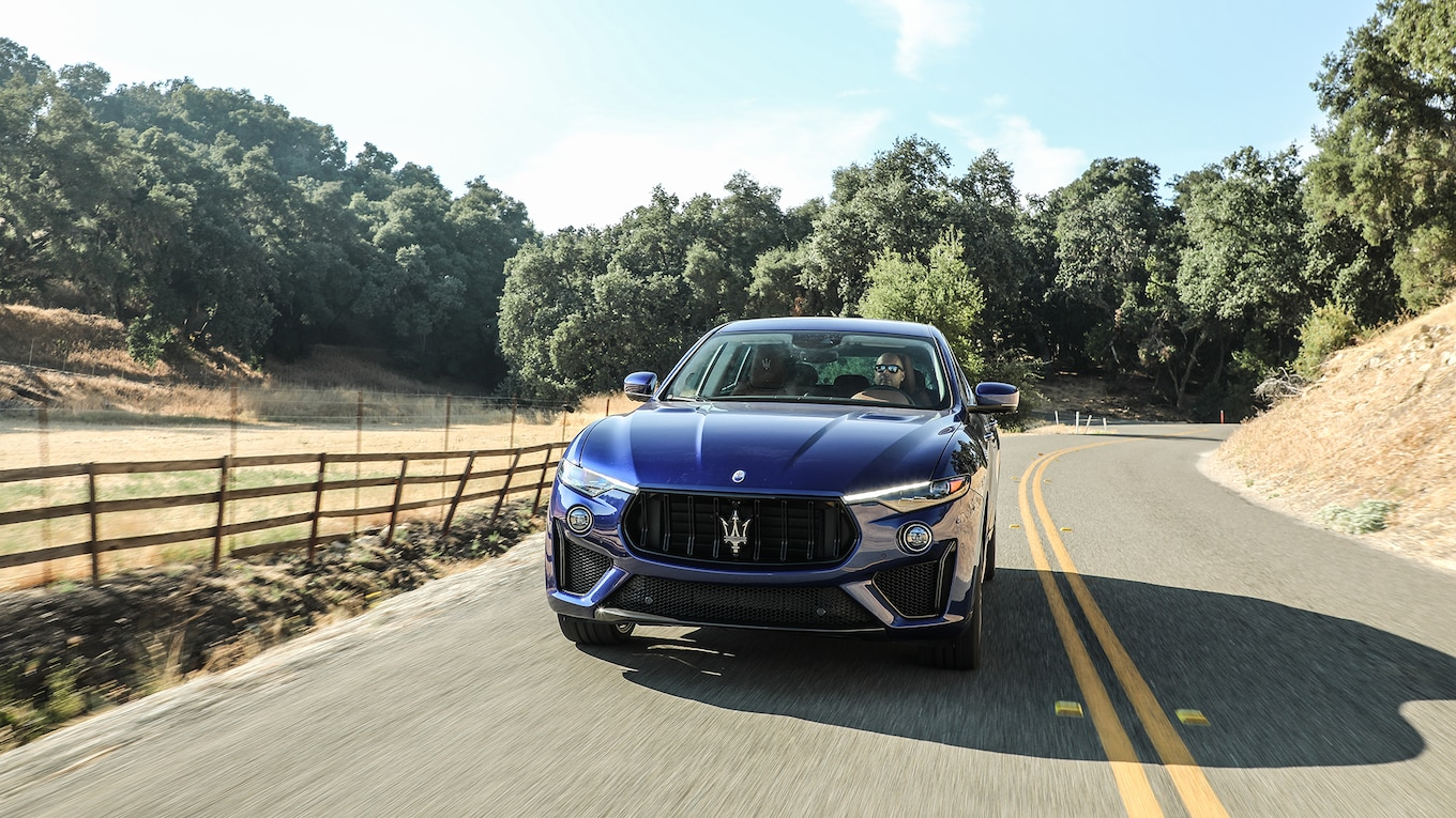 2019 Maserati Levante Trofeo Front Wallpapers (1)
