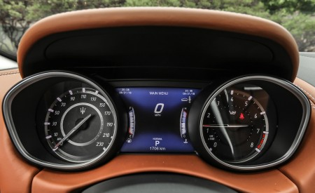 2019 Maserati Levante Trofeo Instrument Cluster Wallpapers 450x275 (61)