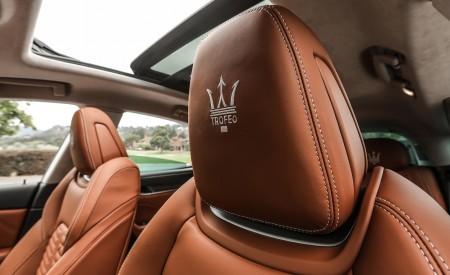2019 Maserati Levante Trofeo Interior Front Seats Wallpapers 450x275 (66)