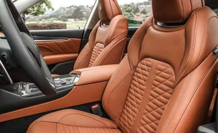 2019 Maserati Levante Trofeo Interior Front Seats Wallpapers 450x275 (65)