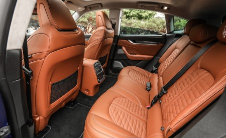 2019 Maserati Levante Trofeo Interior Rear Seats Wallpapers 450x275 (53)